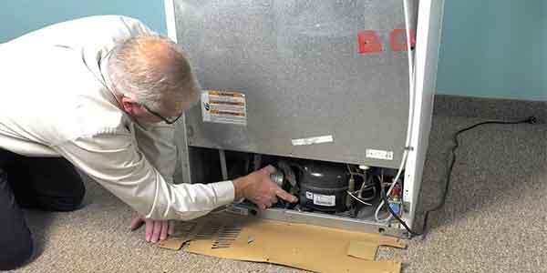 تعمیر یخچال ویرپول در پرند